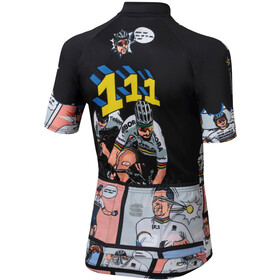 Sportful Super Peter Maillot de cyclisme Enfant, nero